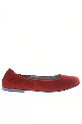 flat shoe in cotton smooth velvet  - 195
