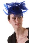 sheer crinoline waves hat  -