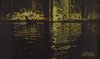 'reflections on the water in Venice' printed scarf  -