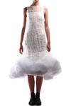 handknitted mohair dress  -