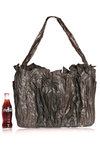 dark brown sculpture artbag  -