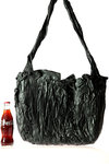 black sculpture artbag  -