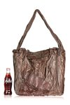 brown sculpture artbag  -