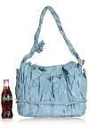 sky blue sculpture artbag  -