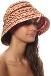 telescopic cloche hat  -