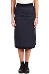double fabric pencil skirt  -