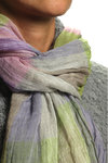 madras design scarf  -