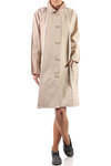 overcoat with trimmed details  -