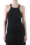 ribbed jersey tank top  -