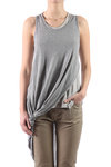 two tone mélange jersey top  -