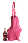 spiral shape bucket bag  -