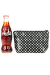 origami polka dots design make-up purse  -