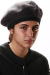 soft wool mohair beret  -