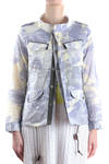field jacket in cotton gauze camouflage  -