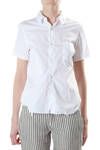cotton poplin shirt with workstitch  -