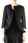 cotton and silk gabardine jacket  -