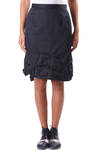 folded hem band pencil skirt  -