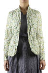 riding style jacket in garden printed Liberty cotton  -