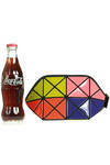 multicolor origami make-up purse  -