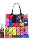 multicolor origami tote bag  -
