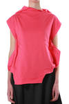 abstract top in jersey cotton  - 4