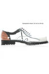 lace up shoe in clear plastic  - 48