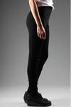 Tight stretch trousers in heavy viscose, polyamide and elastan jersey  - 161
