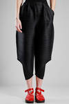 wide trousers in polyester plissé with narrow vertical strip - PLEATS PLEASE Issey Miyake
