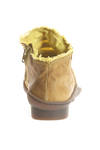 COUP shoe in very soft cowhide leather washed and double in a cotton canvas base - TRIPPEN
